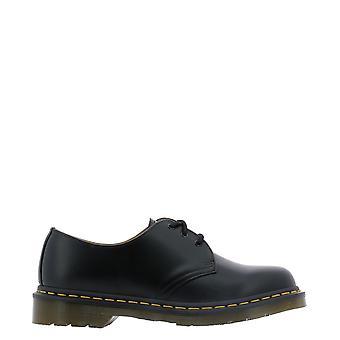Dr. Martens Dms1461bsmz10085001y Men's Black Leather Lace-up Shoes