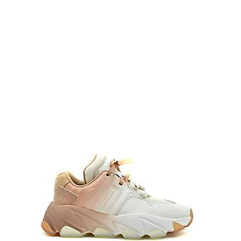 Ash Ezbc125009 Women's Pink Leather Sneakers