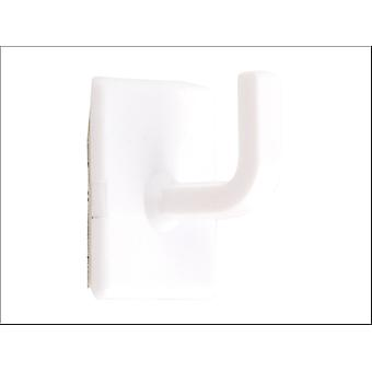 Basics Self Adhesive Calendar Hook White x 10 042224
