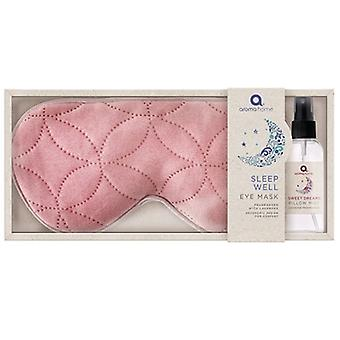 Aroma Home Relax & Warm Lavender Eye Mask & Pillow Spray: Rose