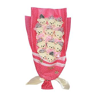 Bouquet of Teddy Bears in Gift Box