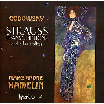 L. Godowsky - Godowsky: Strauss Transcriptions and Other Waltzes [CD] USA import