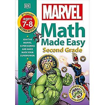 Marvel Math Made Easy, anden klasse: Deltag i Marvel super helte og gøre math din supermagt!