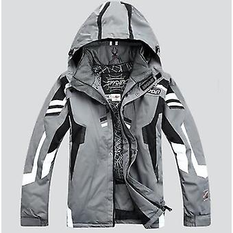 Men Winter Hooded Warm Parkas Waterproof Snow Jacket For Hiking, Camping,