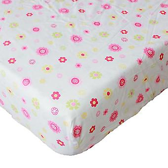 Cotton Crib Fitted Sheet/soft Baby Bed, Mattress Cover Protector