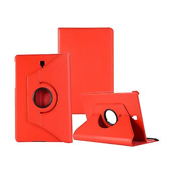 FONU 360° Bücherregal Abdeckung Samsung Galaxy Tab S4 (SM-T830 / SM-T835) - Rot