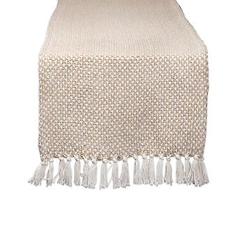 Dii Stone Woven Table Runner