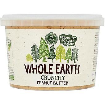 Hele jorden original crunchy peanøttsmør 1kg x2
