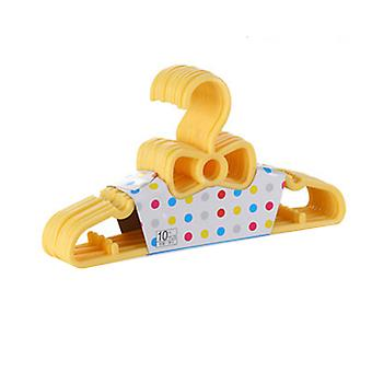 10 Cute Bowknot Children Hangers 4 Colors With Hooks