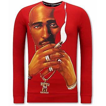 Tupac Shakur Sweater - Red