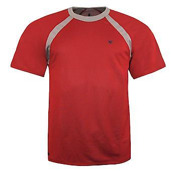 Nike Mens ACG T-Shirt Dri Fit Casual Training Top Vermelho 186572 648