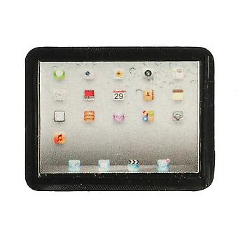 Dolls House Tablet In Black Miniature Handheld Computer Modern 1:12 Accessory