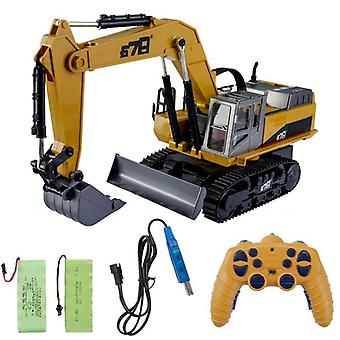 Simulation Remote Control Engineering Vehicle, Distance Crane