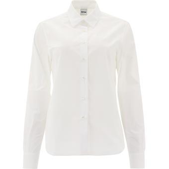 Aspesi H711d30785072 Damen's weißes Baumwollhemd