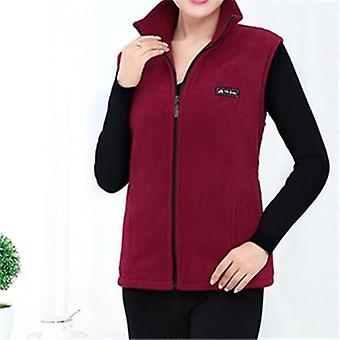 New Fleece Korean Plus Size  Sleeveless Jackets Casual Waistcoat