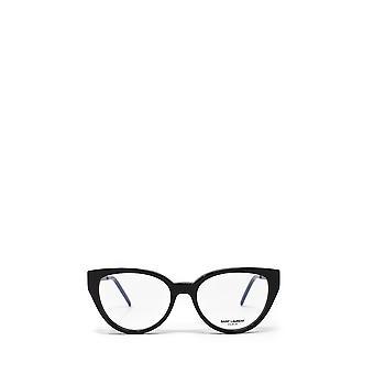 Saint Laurent SL M48_A czarne żeńskie okulary