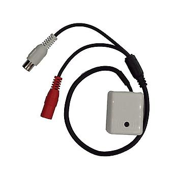 Mini Audio Mic For Security Dvr Camera System Cable Cctv Microphone