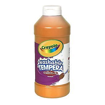 Artista Ii Pintura de Tempera Líquido Lavable, Naranja, 16 Oz.