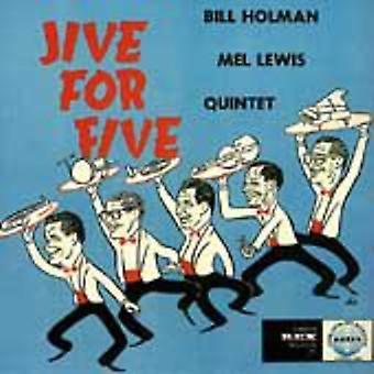 Holman/Lewis Quintet - Jive for Five [CD] USA import