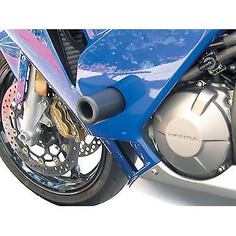 BikeTek Black STP Crash Protector Kompatibel mit Suzuki GSXR600 K1-K3 (Straße) 01-02 GSXR750 Y-K3 00-03