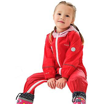 Regatta Boys & Girls Peppa Charco Waterproof Rainsuit