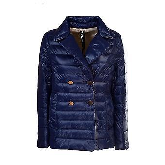 Violanti Via1025000508 Women's Blue Nylon Down Jacket