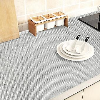 1 Roll Kitchen Sticker Table Mat Drawers Cabinet Shelf Liner