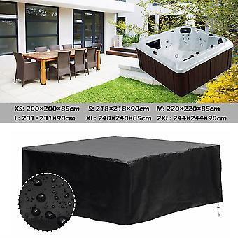 Hot Tub Dust Cover Protect, Uv Proof, All-weather Spa Cap, Waterproof,