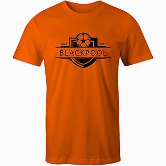 بلاكبول 1887 أنشئت شارة كرة القدم تي شيرت
