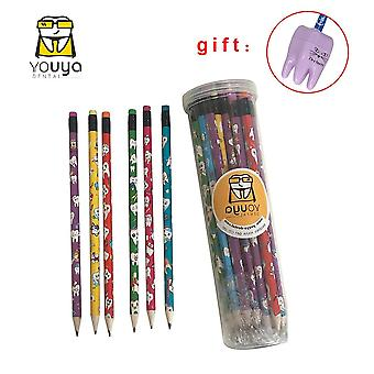 Cute Cartoon Tooth Pattern Pencil Dental Clinic Hospital Use Souvenir Study And