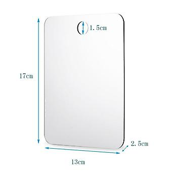 Unbreakable, Portable, Traveling Mirror, Anti Fog Shower, Bathroom Fogless,