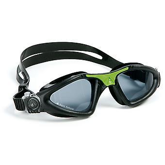 Aqua Sphere Kayenne Swimming Goggle - Smoke Lenses - Black/Green