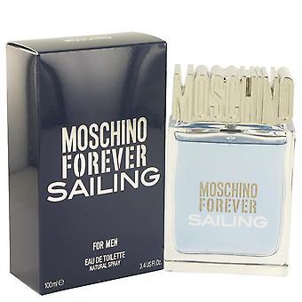Moschino Forever zeilen Eau De Toilette Spray door Moschino 3.4 oz Eau De Toilette Spray