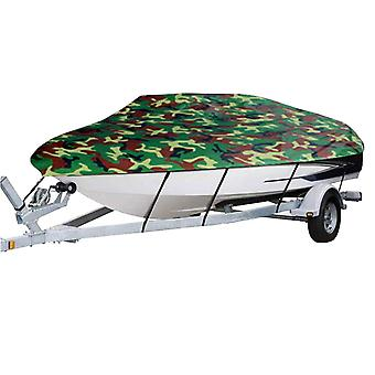 Boat cover all-weather protection full covers with adjustable strip and buckle camouflage style