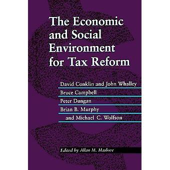 David W. Conklin taloudellinen ja sosiaalinen ympäristö verouudistukselle