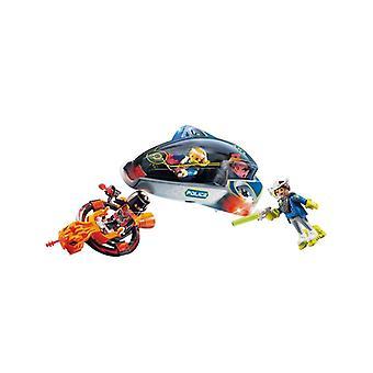 Playmobil galaxy police glider