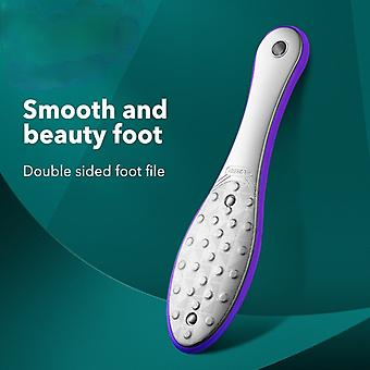 Pedicure Foot Care Tools Foot File Rasps Callus Dead Skin Remover Professional Stainless Steel Double Sides Files