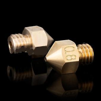 Hochwertige Messing Mk8 Düse für 3D-Drucker Hotend 1,75 mm Filament