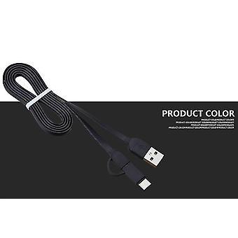 USB Sync/töltőkábel MFi USB Micro & C típus