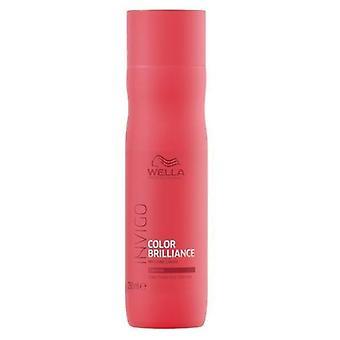 Wella Professionals Invigo Brilliance Dickes Haar Shampoo 250 ml