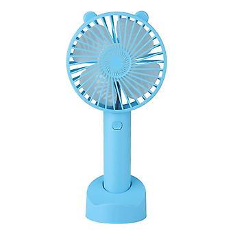 Usb mini fan handheld charging noiseless small fan