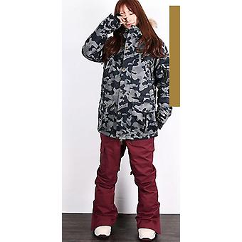 Men/women Snowboarding Jackets+pants Suits