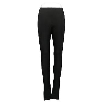 LOGO By Lori Goldstein Women's Pants XXS Reg Knit Black A260143