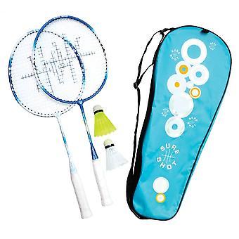 Sure Shot Athene Junior Twee speler Badminton Racket & Play Set