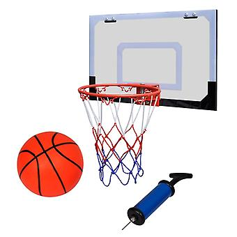 Mini basketball hoop set with ball and pump indoor