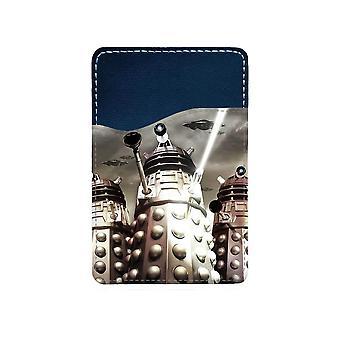 Doctor Who Dalek Adhesive Card Holder For Mobile Phone
