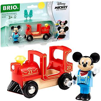 Brio 32282 Brio Disney Mickey & Friends - Locomotora mickey mouse - Ferrocarril de madera