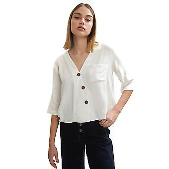 Shuuk V-Neck Blouse with Buttons