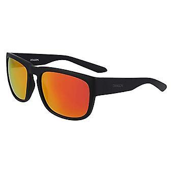 Dragon Dr Rune Ion Sunglasses, Matte Black, 58mm, 18mm, 135mm Men's
