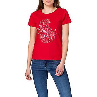 LTB Jeans Komewi T-Shirt, Flame Scarlet 5785, XS Women